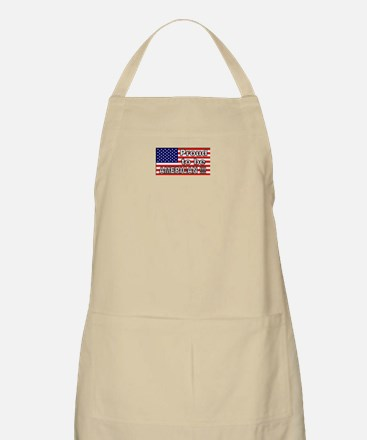 Proud to be American !!! BBQ Apron