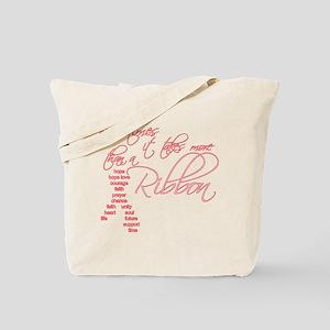 More Than A Ribbon Tote Bag