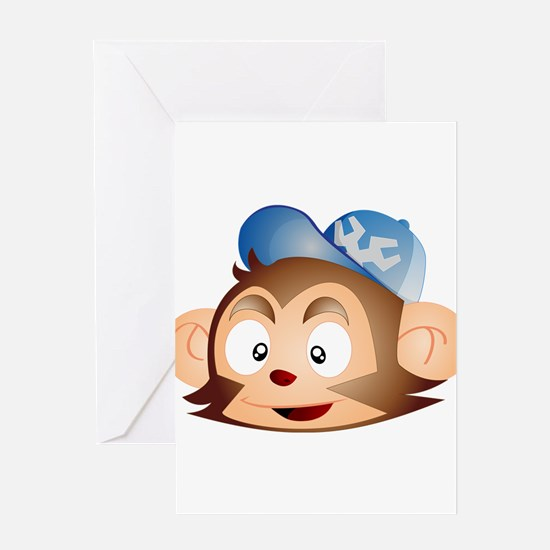 Grease Monkey Greeting Card