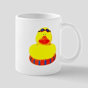 Rubber bather yellow duck Mug