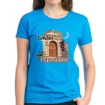 Women's T-Shirt (blue or red)