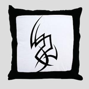 Asymmetrical Tribal Throw Pillow