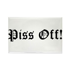 Piss Off! Rectangle Magnet (10 pack)