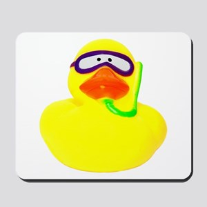 Diving Rubber Duck Mousepad