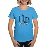 Women's T-Shirt (carib. blue)