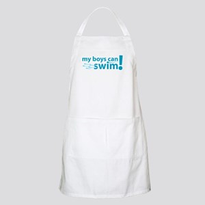 My Boys Can Swim Apron