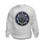 USS NEWPORT NEWS Kids Sweatshirt