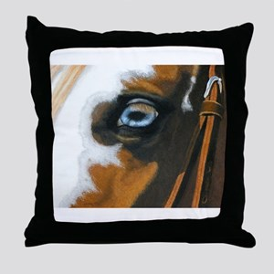 See my soul Throw Pillow