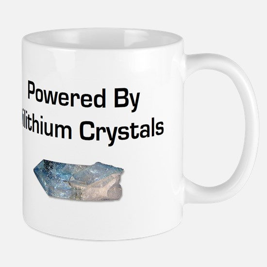 Powered by dilithium crystals Mug