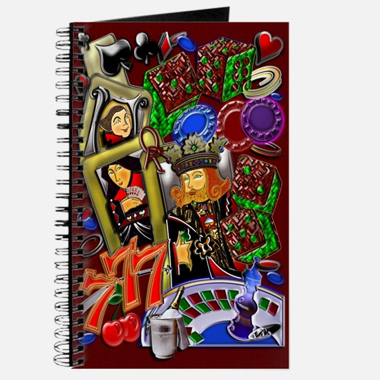 Journal Royal Heart Flush, Casino Art