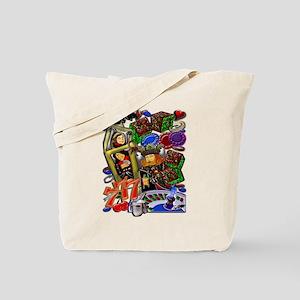 Tote Bag Royal Heart Flush, Casino Art