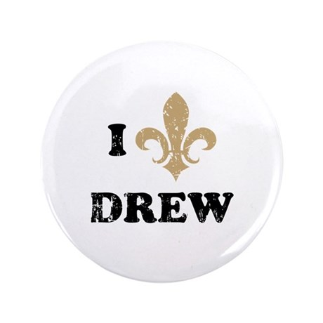 """I heart drew 3.5"""" Button (100 pack)"""