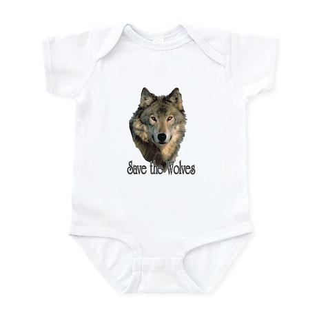 Save Wolves Infant Bodysuit