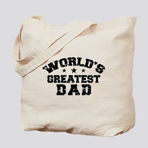World's Greatest Dad Tote Bag