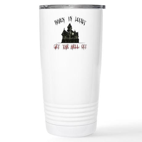 Ghosts Stainless Steel Travel Mug