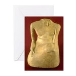 Indus Statue Greeting Cards (Pk of 10)