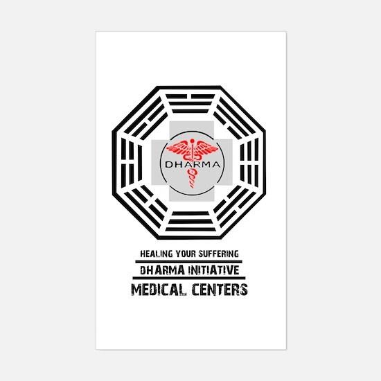 Sticker (Rectangle) Dharma Medical Center