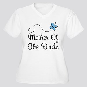 Mother Of The Bride Women's Plus Size V-Neck T-Shi