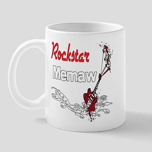 Rockstar Memaw Mug