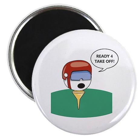 Golf Helmet Magnet