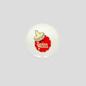 Senor Pizza Mini Button