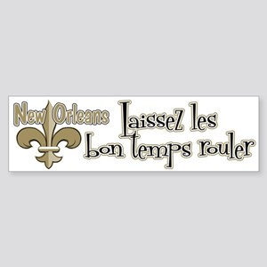 Laissez temps NOLA Sticker (Bumper)