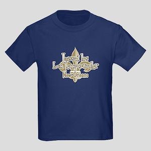 Laissez les bon temps NOLA Kids Dark T-Shirt