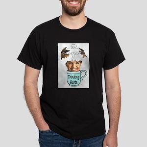 Thinking Hurts Dark T-Shirt