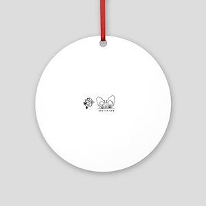 Cupid Shuffle Line Dance Ornament (Round)