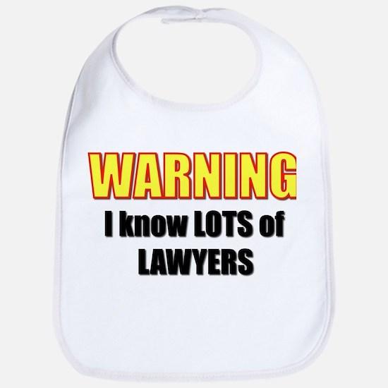 I know lawyers Bib