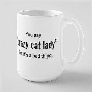 Cat Lady Large Mug