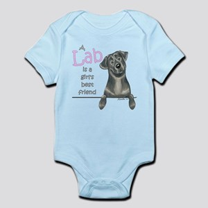 Black Lab BF Infant Bodysuit