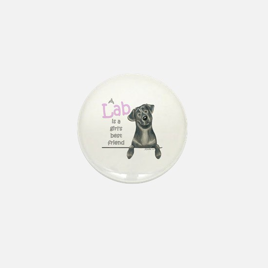 Black Lab BF Mini Button