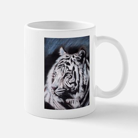 Cute White tiger toy Mug