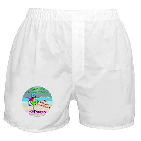 Explorers April 15, 2010- Boxer Shorts