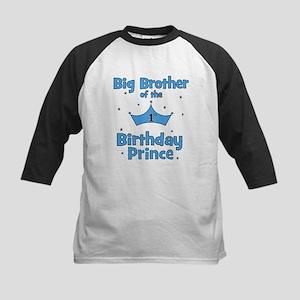 Big Brother of the 1st Birthd Kids Baseball Jersey