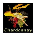 Chardonnay Wine Tile Coaster