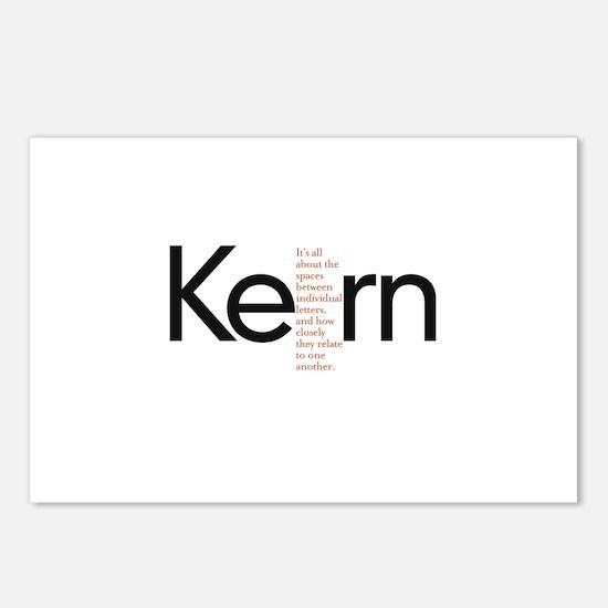 Kerning Postcards (Package of 8)