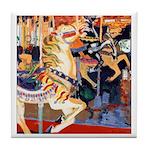 Riccoboni Carousel Horse Tile Coaster