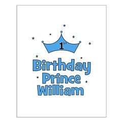 1st Birthday Prince WILLIAM! Posters