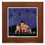 December Nights San Diego Framed Tile