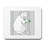 Remember My Oath Mousepad