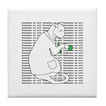 Remember My Oath Tile Coaster