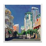 Riccoboni Beacon Artworks Tile Coaster