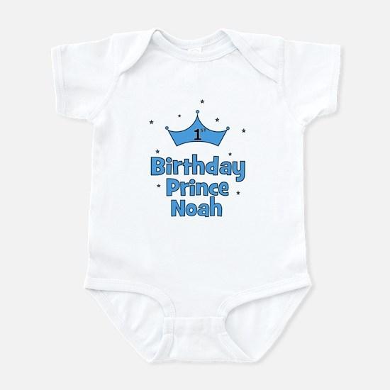 1st Birthday Prince NOAH! Infant Bodysuit