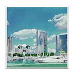 San Diego Marina by Riccoboni Tile Coaster