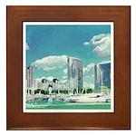 San Diego Marina by Riccoboni Framed Tile