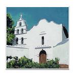 Mission San Diego Tile Coaster