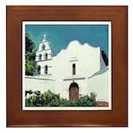 Mission San Diego Framed Tile