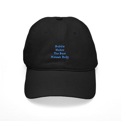 Bubbie's Matzah Balls Passover Black Cap